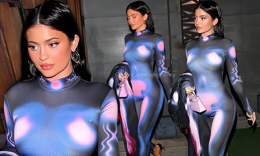 Kylie Jenner Flaunts Her Curves in a Sexy Bodysuit (47 Photos)
