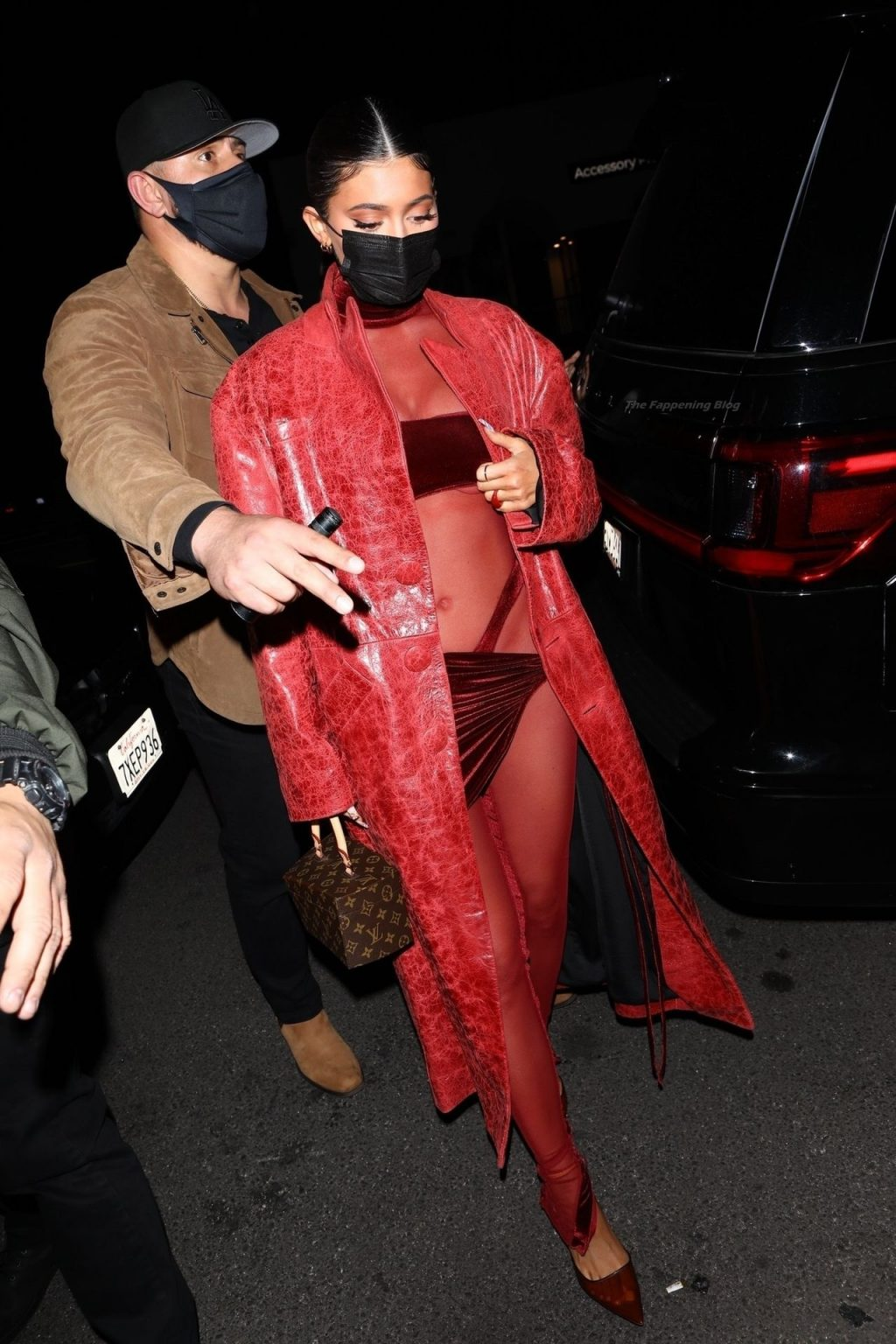 Kylie Jenner Arrives for Justin Bieber's Album Release Party in a Sexy Red Ensemble (88 Photos)