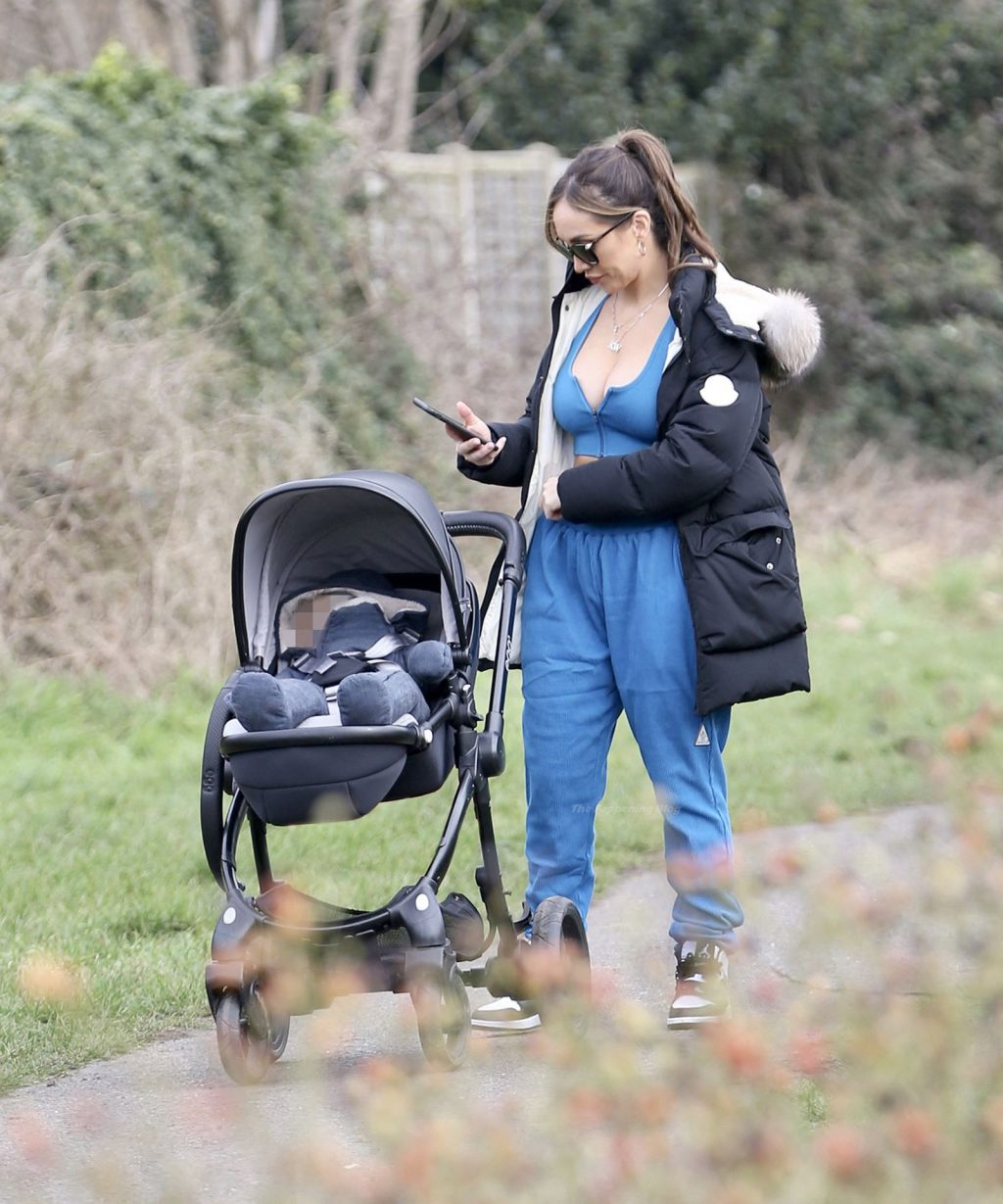 Lauryn Goodman Takes Her Son Out For a Walk in Hove (16 Photos)
