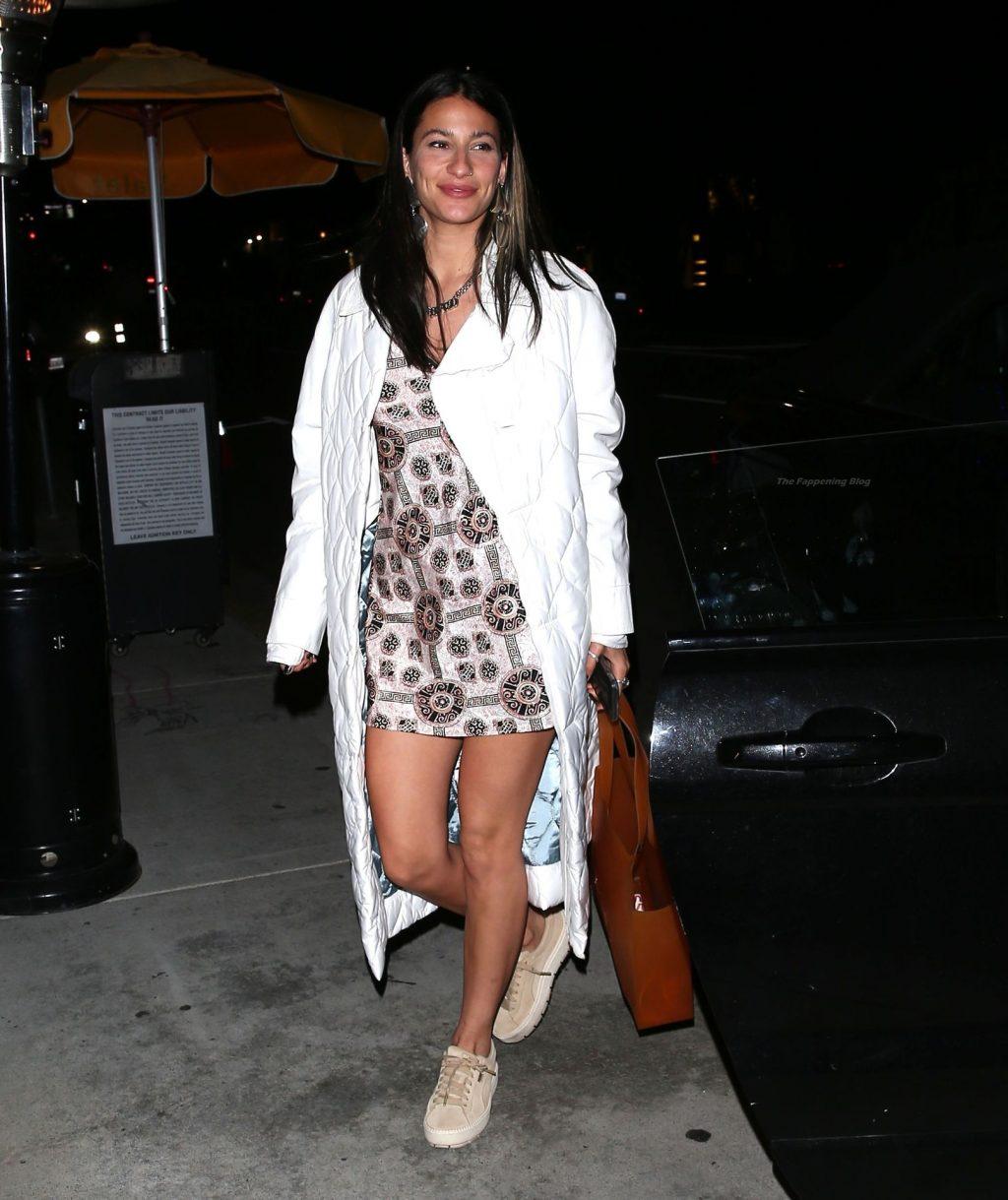 Leggy Lexy Panterra is Seen Arriving for Dinner in LA (28 Photos)