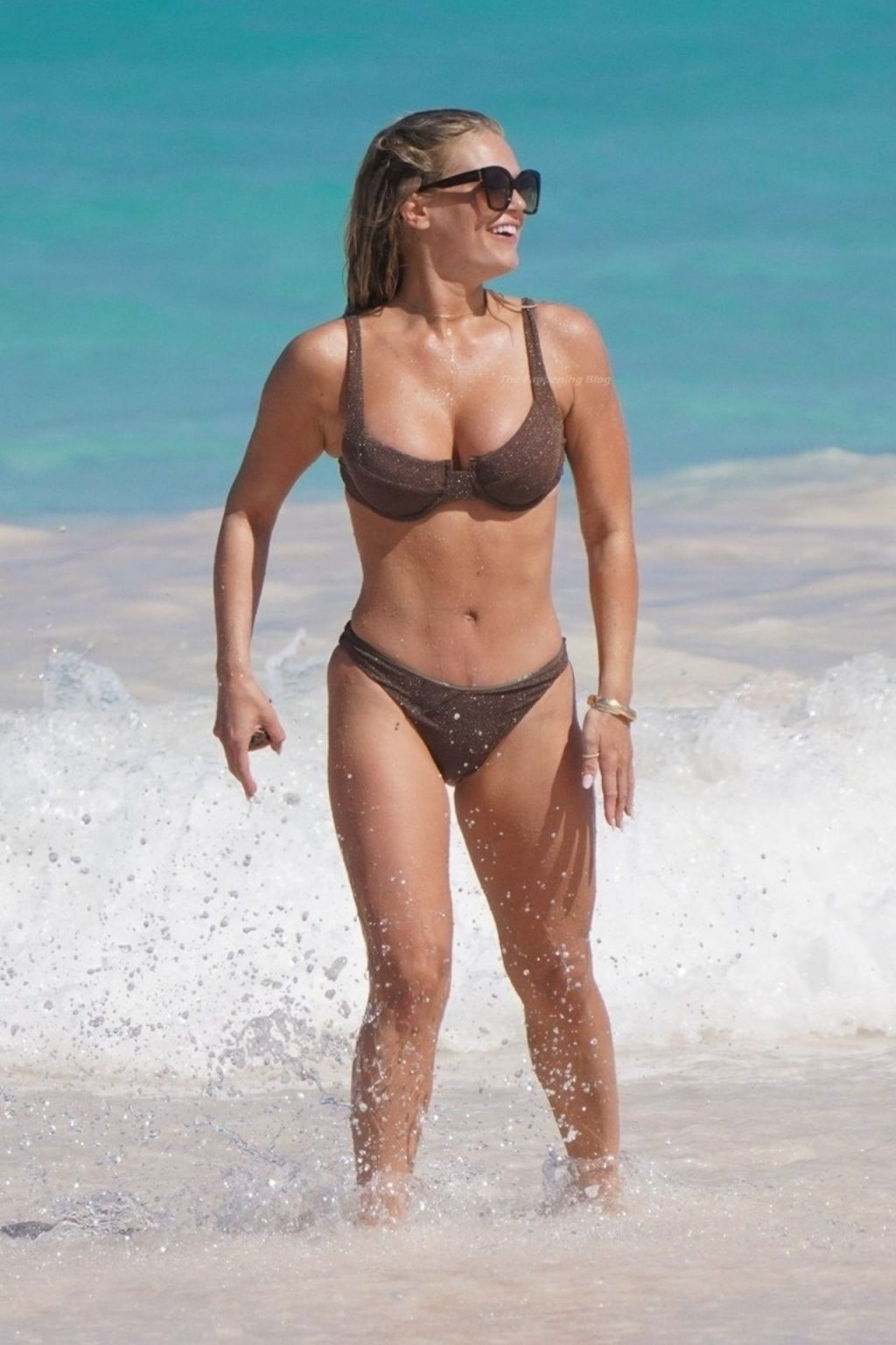 Madison LeCroy Parades Stunning Body and Nude Tits on the Beach in The Bahamas (76 Photos)