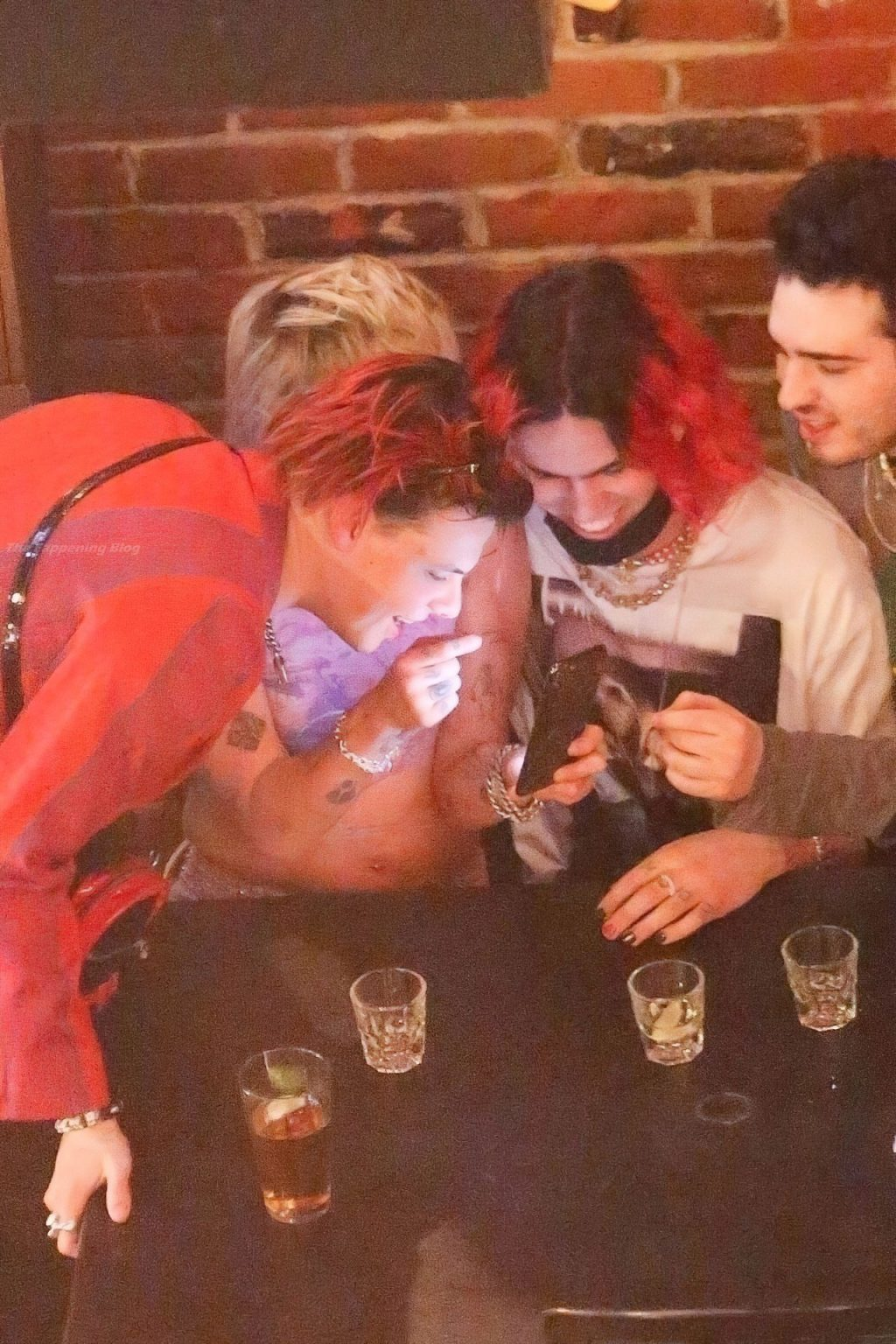 Miley Cyrus Sparks Dating Rumors as She is Seen Getting Very Frisky with Yungblud (64 Photos)