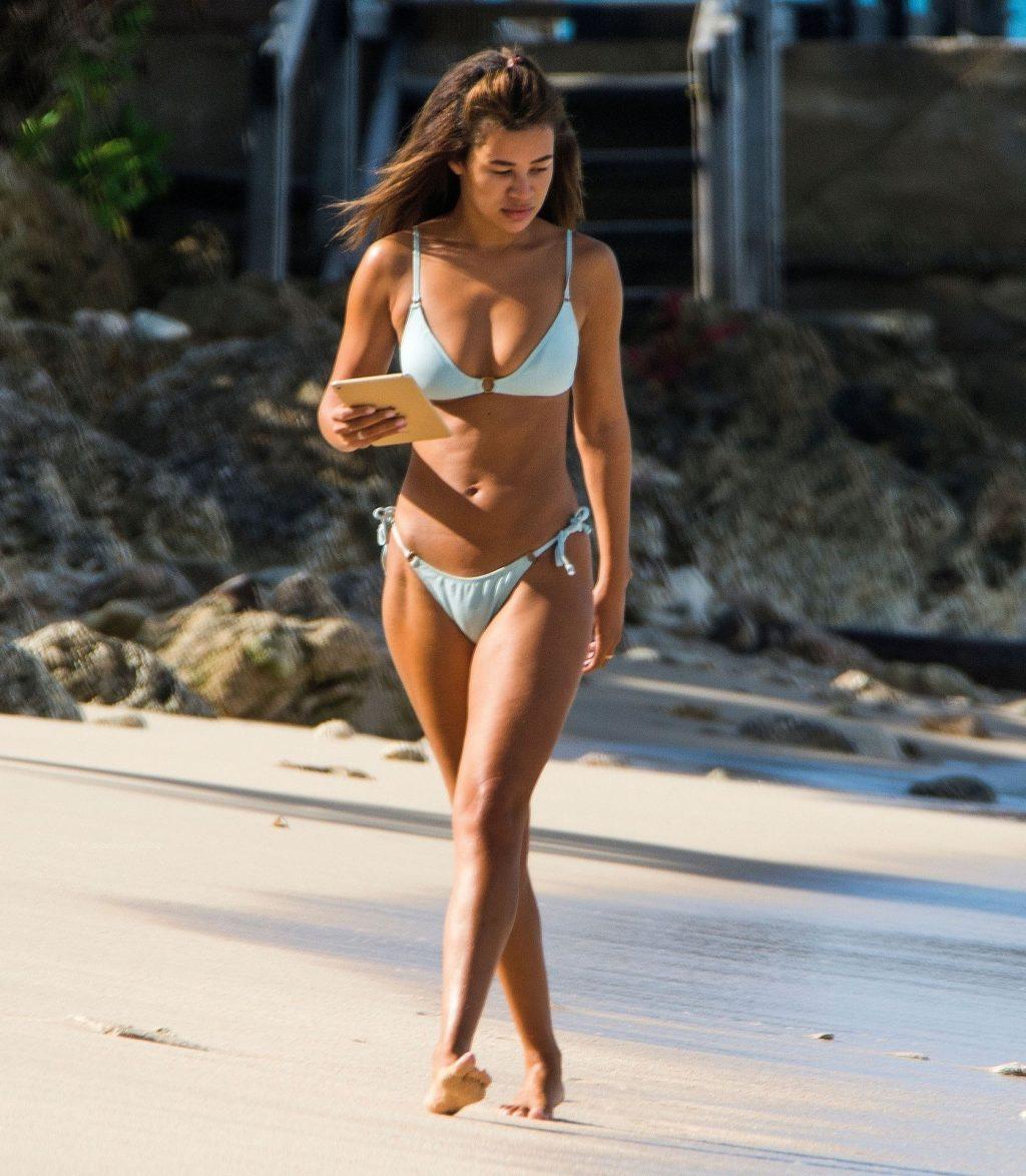 Montana Brown Looks Stunning Wearing Her Bikini Out on Barbados (59 Photos)
