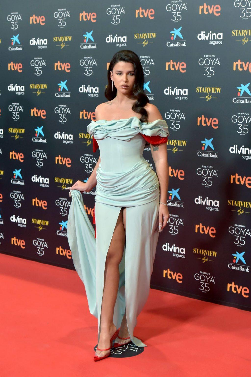Leggy Nathy Peluso Looks Hot at the Spanish Film Academy's Goya Awards in Malaga (48 Photos)