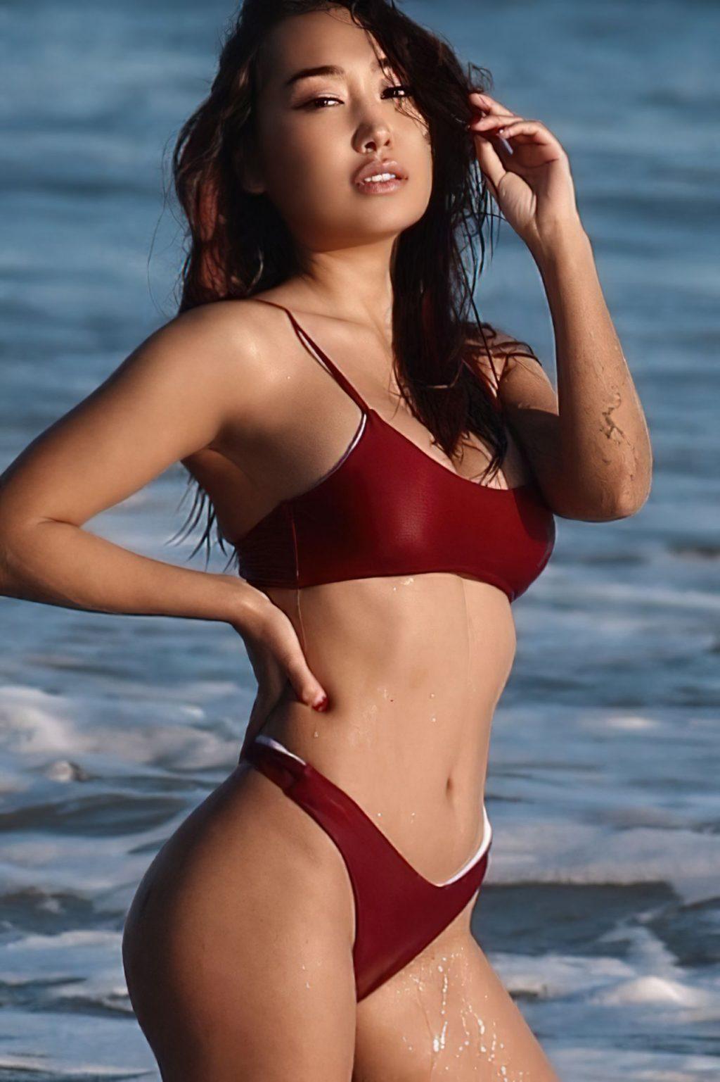 Nora Kyzy Shows Off Her Sexy Body in a Bikini (47 Photos)