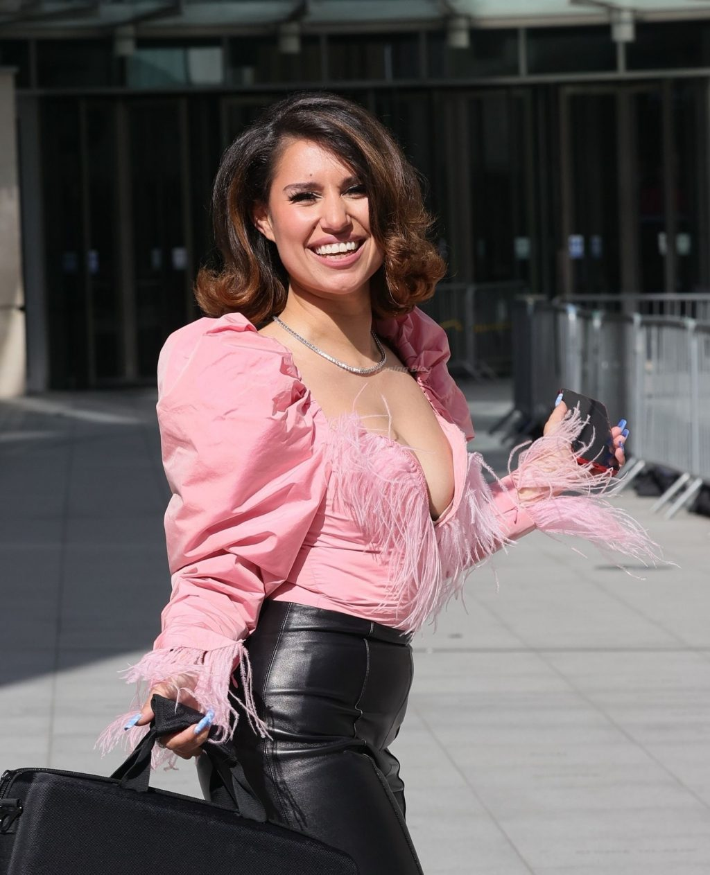 Raye Shows Off Her Tits in London (19 Photos)