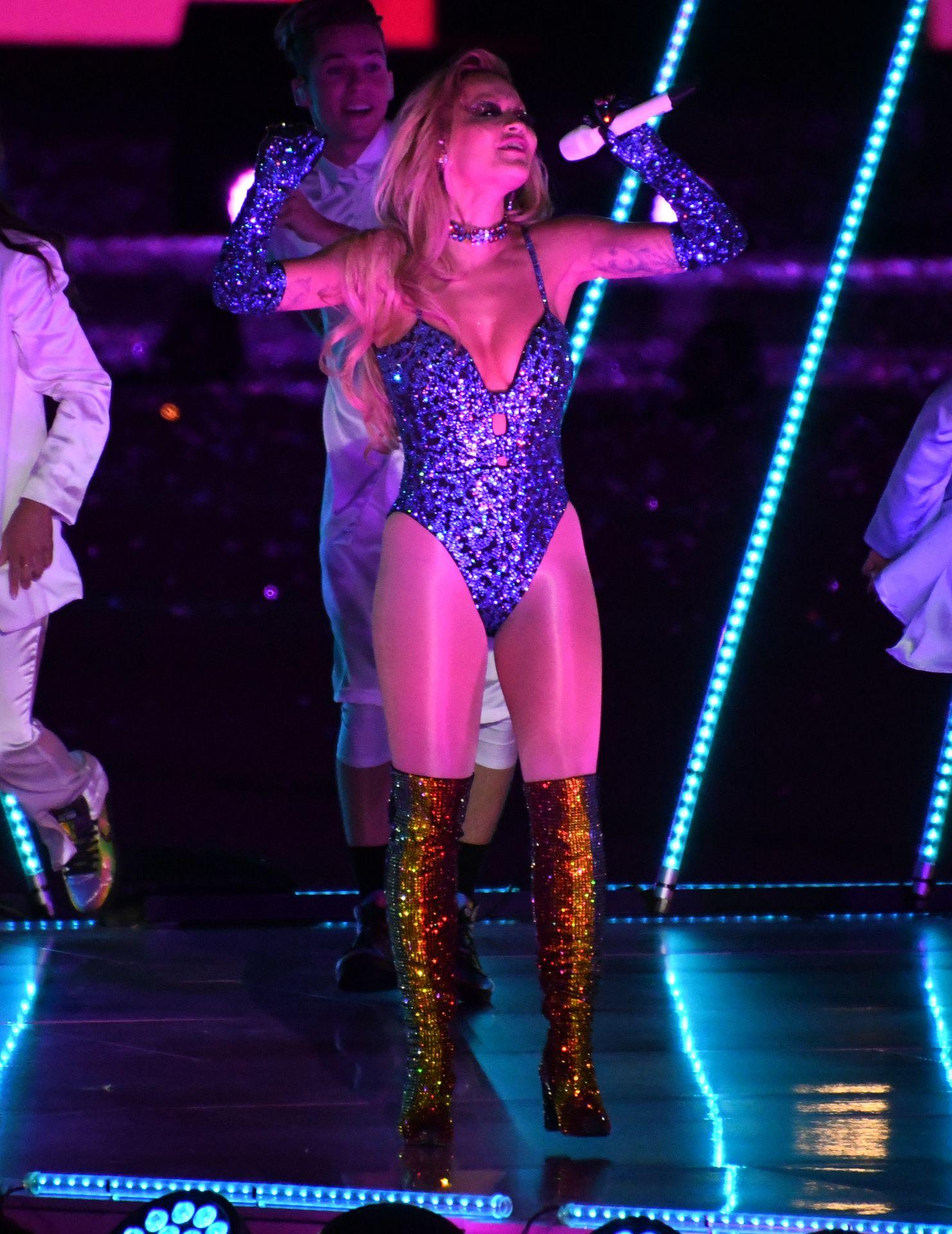 Rita Ora Performs at Sydney Gay and Lesbian Mardi Gras Parade (130 Photos)