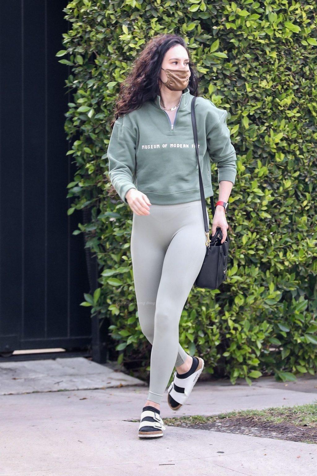 Rumer Willis Makes a Fashion Statement Heading to Pilates Session (20 Photos)