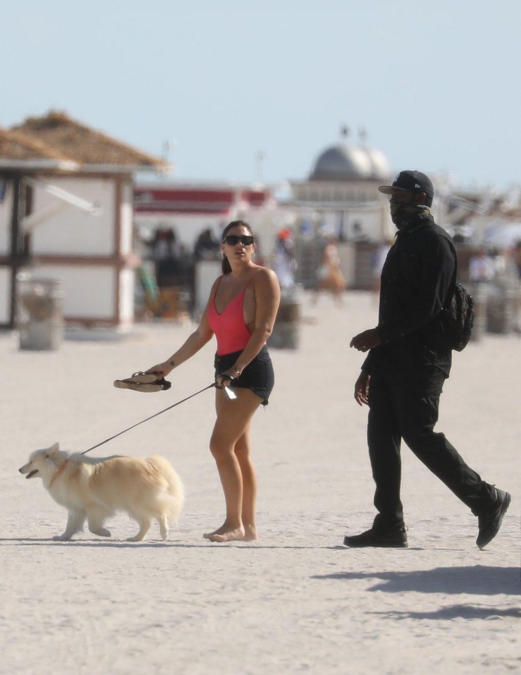 Sean Stewart Enjoys Ocean Views Alongside a Busty Mystery Woman (27 Photos)