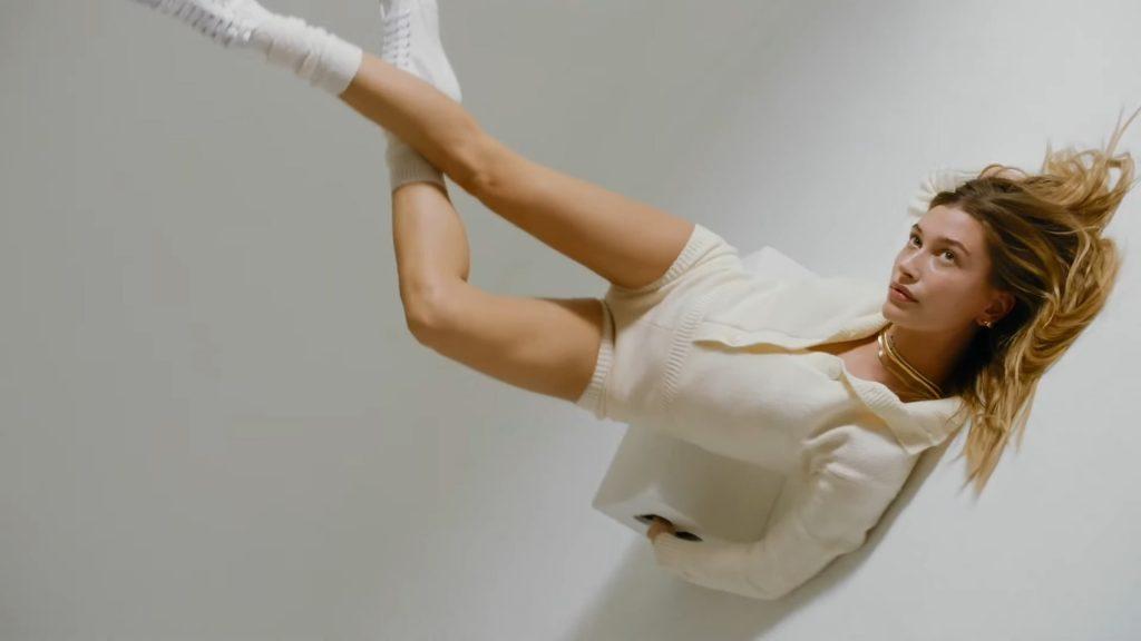 Hailey Bieber Sexy & Topless – Superga (28 Photos + Video)