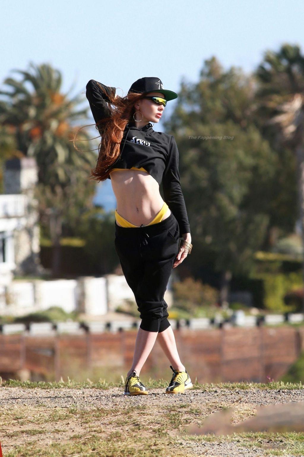 Silence Nicole is Seen Shooting for 138 Streetwear Brand (32 Photos)