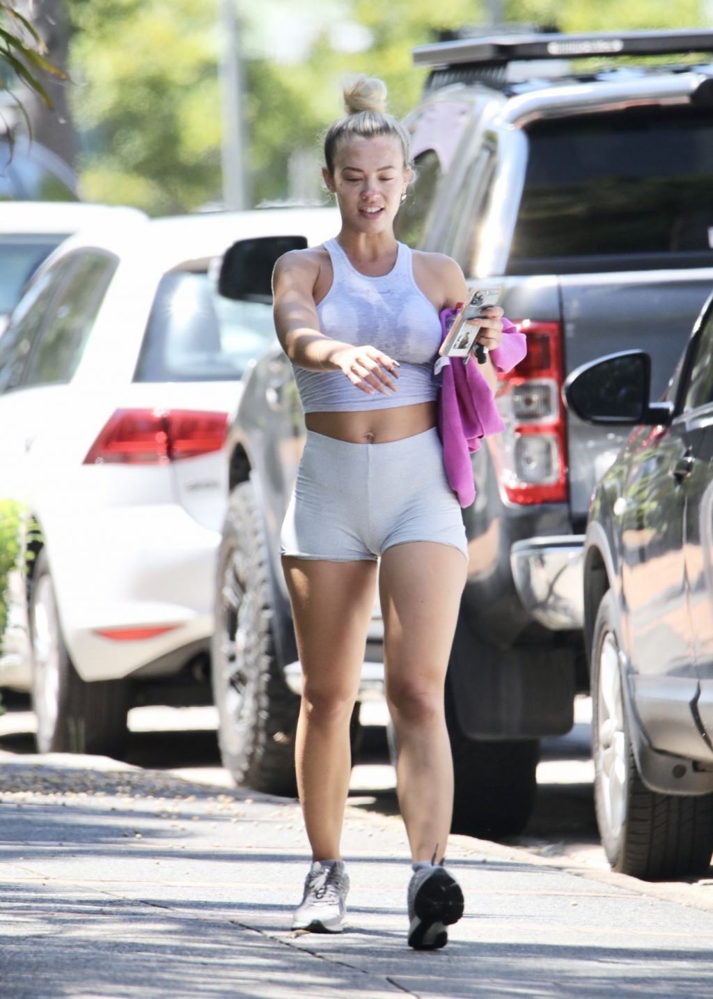 Tammy Hembrow Flaunts Her Sexy Fit Body in Brisbane (9 Photos)