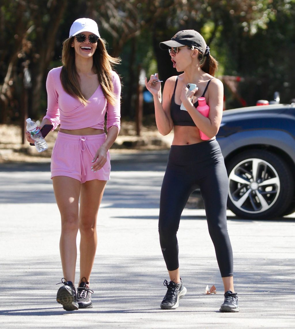 Victoria Justice is Spotted Out on a Hike With Her Sister in LA (18 Photos)