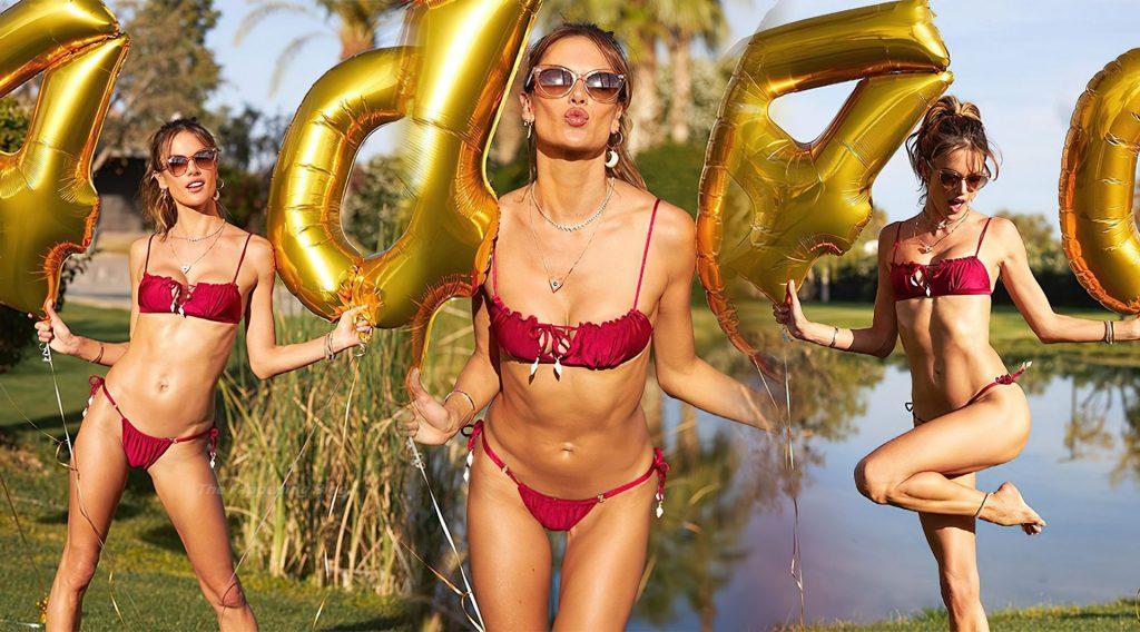 Alessandra Ambrosio (4 Hot Photos)