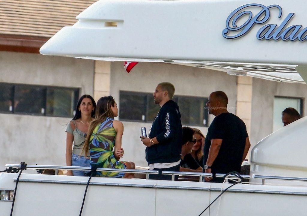 Amelia Gray Hamlin & Scott Disick Enjoy Their Afternoon Aboard a Boat in Miami Beach (47 Photos)