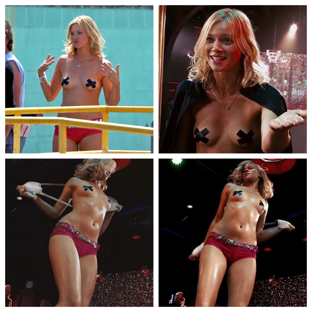 Amy Smart Topless (1 Collage Photo)