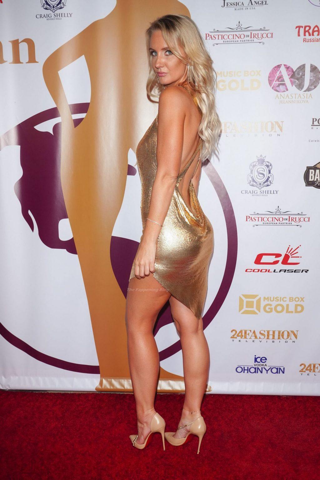 Anya Shevchenko Puts on a Leggy Display in Hollywood (17 Photos)