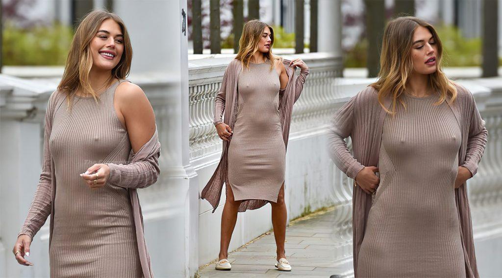 Arabella Chi Sexy (2 Collage Photos)
