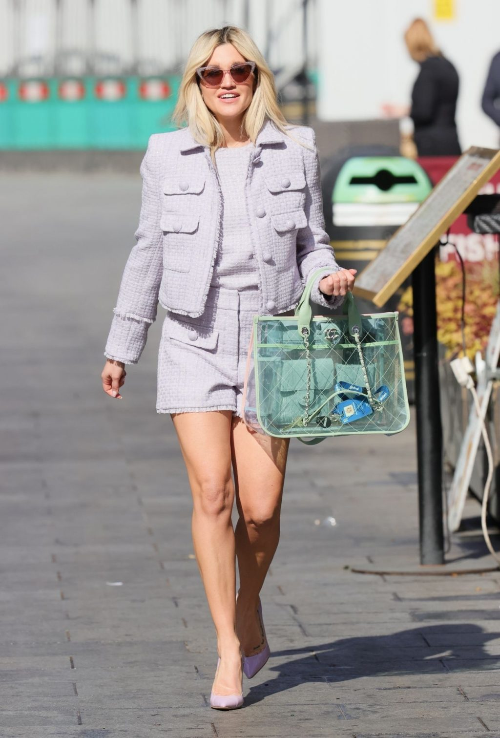 Ashley Roberts Looks Chic at the Heart Radio Studios in London (56 Photos)