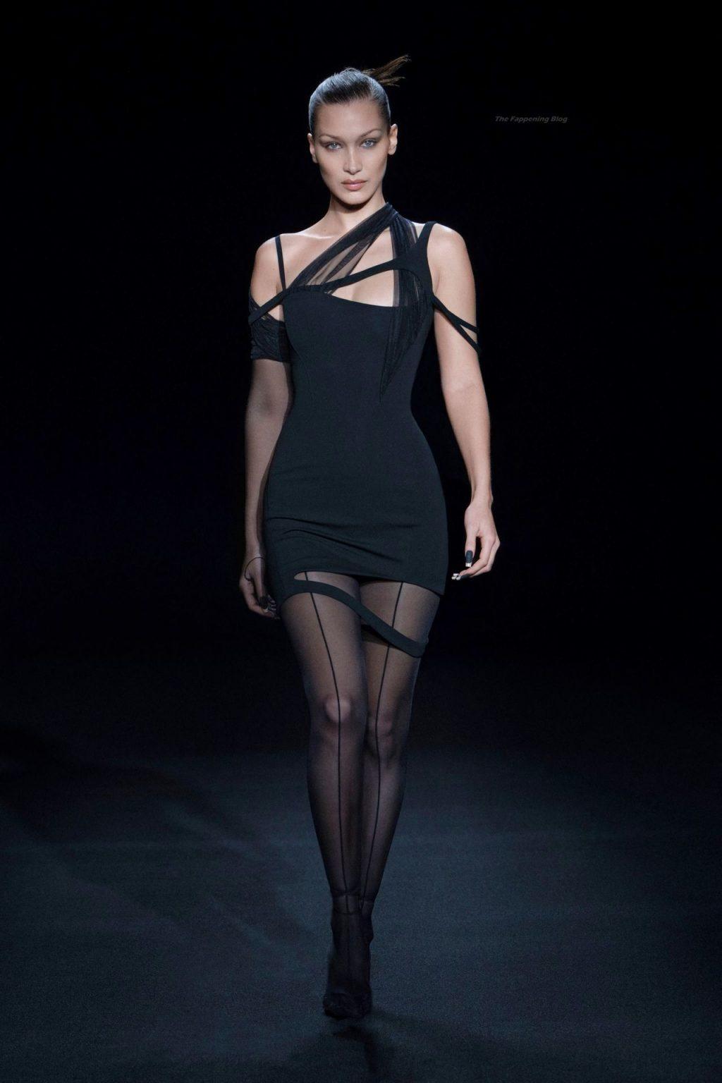 Bella Hadid Looks Hot on the Runway (6 Photos)
