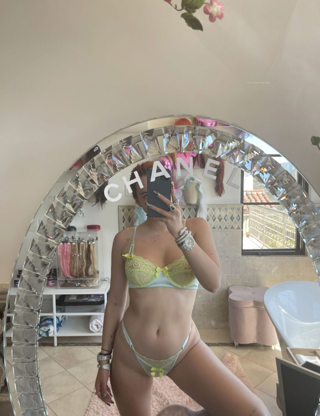 Bella Thorne Posts Hot Selfies (2 Photos)