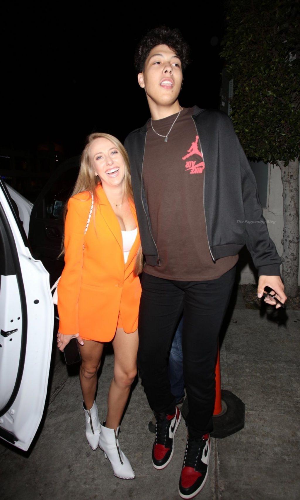 Brittany Matthews Grabs a Late Dinner at Nobu (52 Photos)