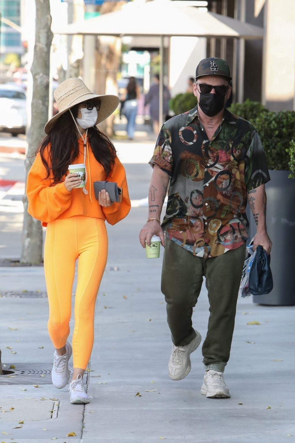 Cara Santana & Shannon Leto Grab Coffee Together at Urth Caffé (18 Photos)