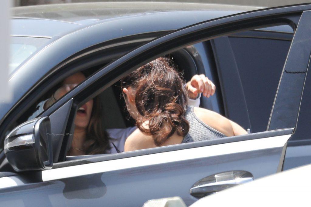 Eiza Gonzalez Bumps Into Cara Santana After Hitting the Gym (47 Photos)