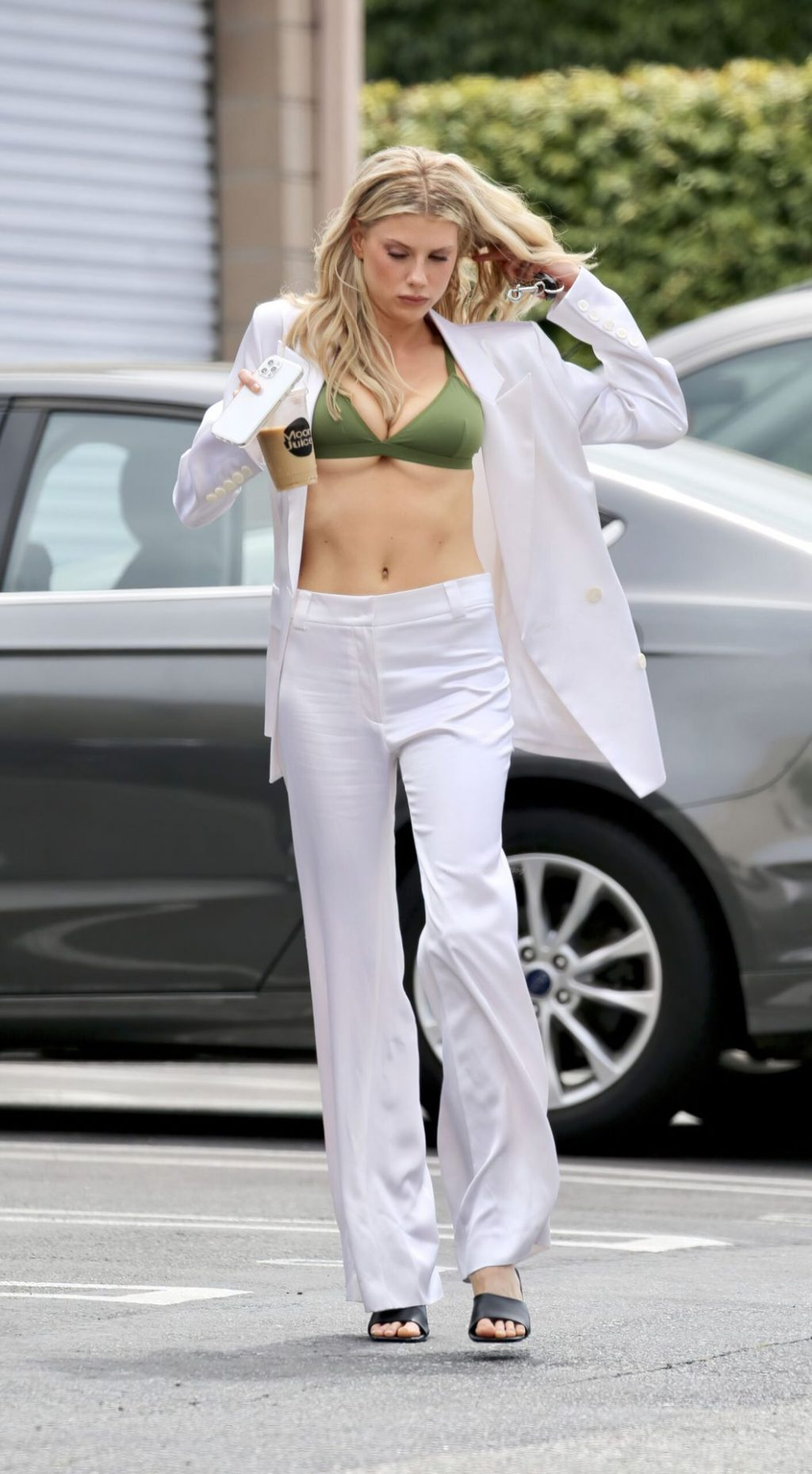 Charlotte McKinney Poses for Parade in Los Angeles (9 Photos)