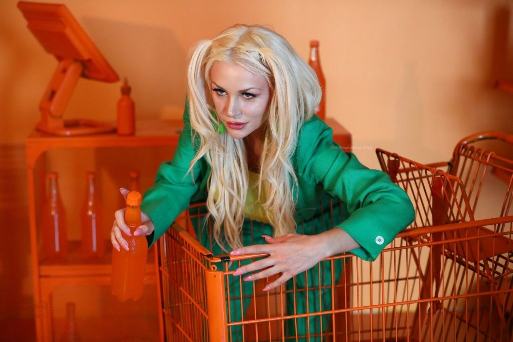 Courtney Stodden Shoots Her Latest Single Album Artwork 'Pleasure' (62 Photos)