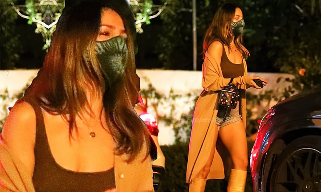 Eiza Gonzalez Shows Off Her Toned Legs While Out for Dinner with Friends (24 Photos)