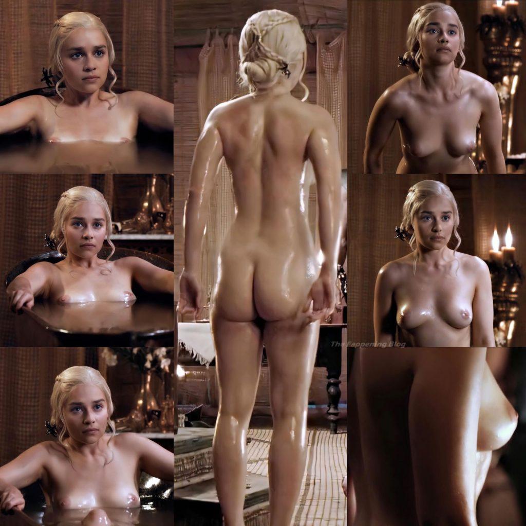 Emilia Clarke Nude (1 New Collage Photo)