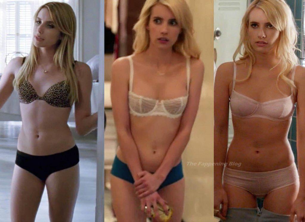 Emma Roberts Sexy (1 Collage Photo)