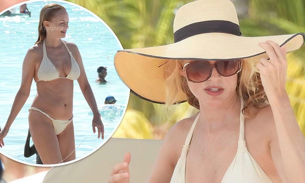 Heather Graham Flaunts Her Curves While Enjoying the Beach (43 Photos)