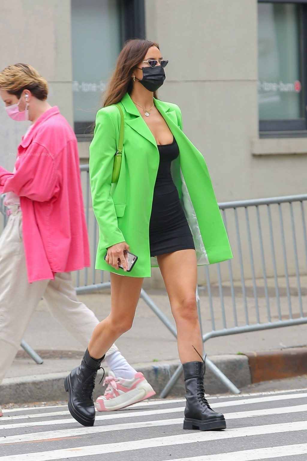 Leggy Irina Shayk Looks Stylish Colorful in NYC (25 Photos)