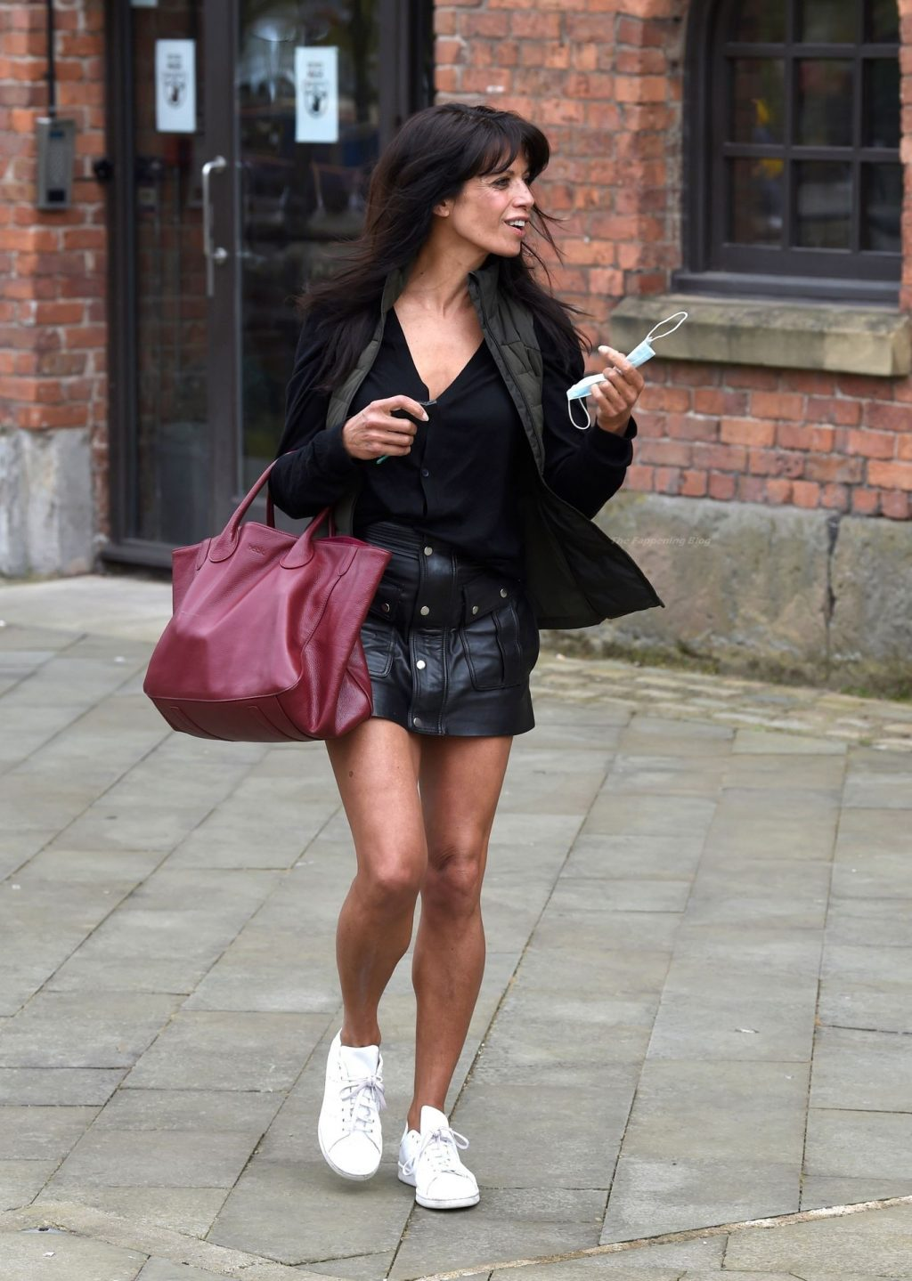 Jenny Powell Puts on a Leggy Display in Manchester (30 Photos)