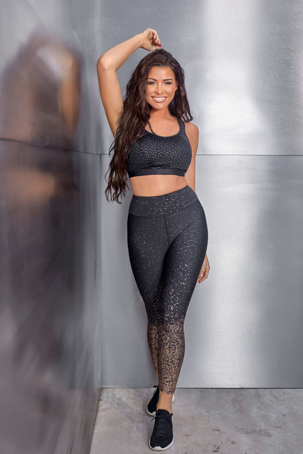 Jess Wright Shows Off Her Curves for Pour Moi (10 Photos)