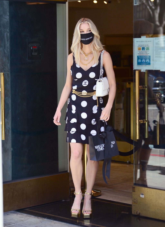 Leggy Joy Corrigan Stuns in Beverly Hills (16 Photos)