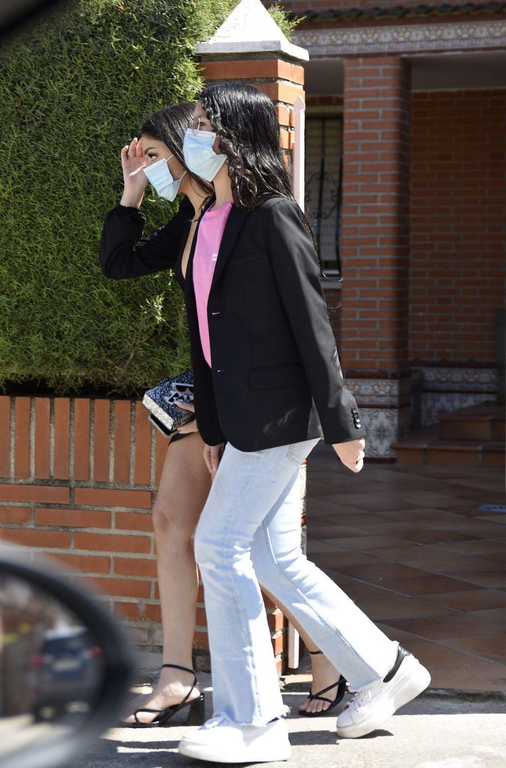 Leggy Julia Janeiro Campanario Celebrates Her 18th Birthday in Madrid (14 Photos)