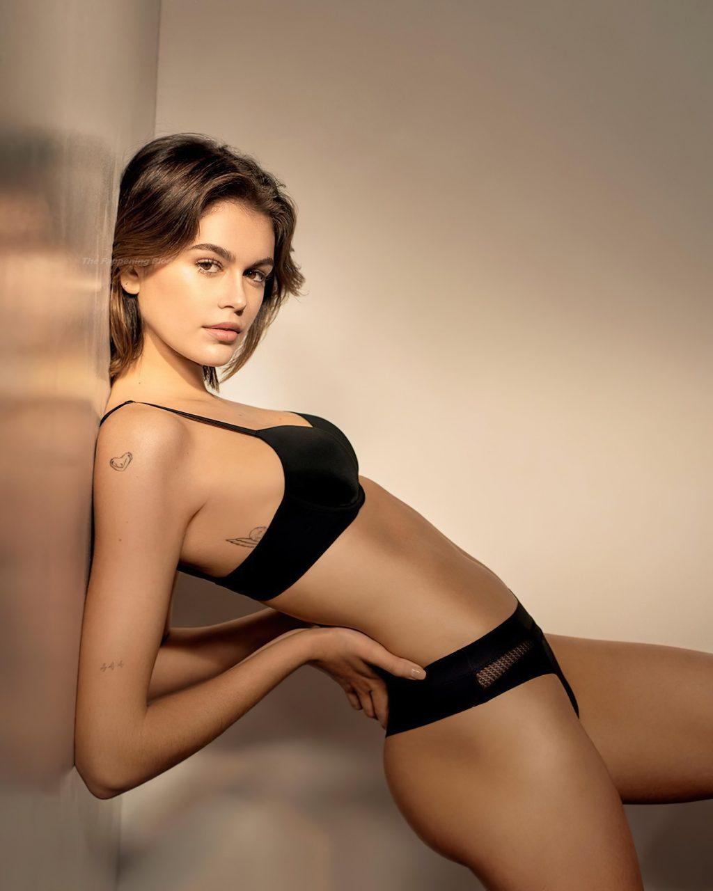 Kaia Gerber Poses for Calvin Klein (12 Photos)