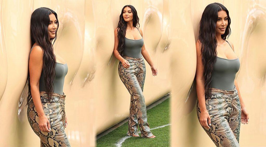 Kimberly Kardashian Sexy (2 Collage Photos)
