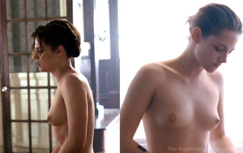 Kristen Stewart Nude (1 Collage Photo)