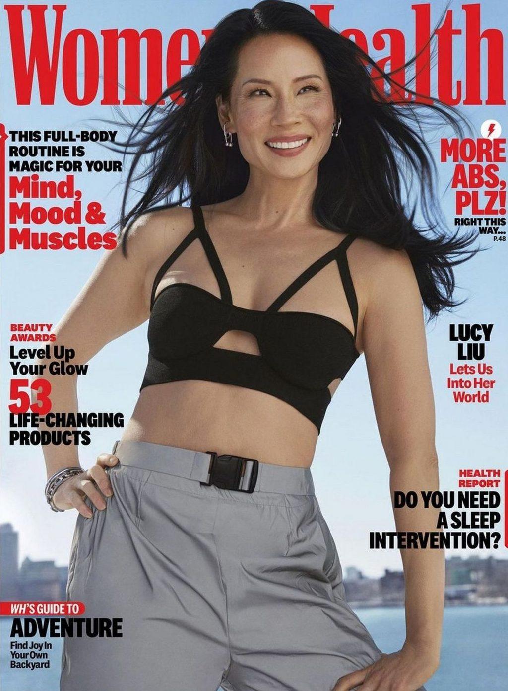 Lucy Liu Sexy – Women's Health Magazine (9 Photos)