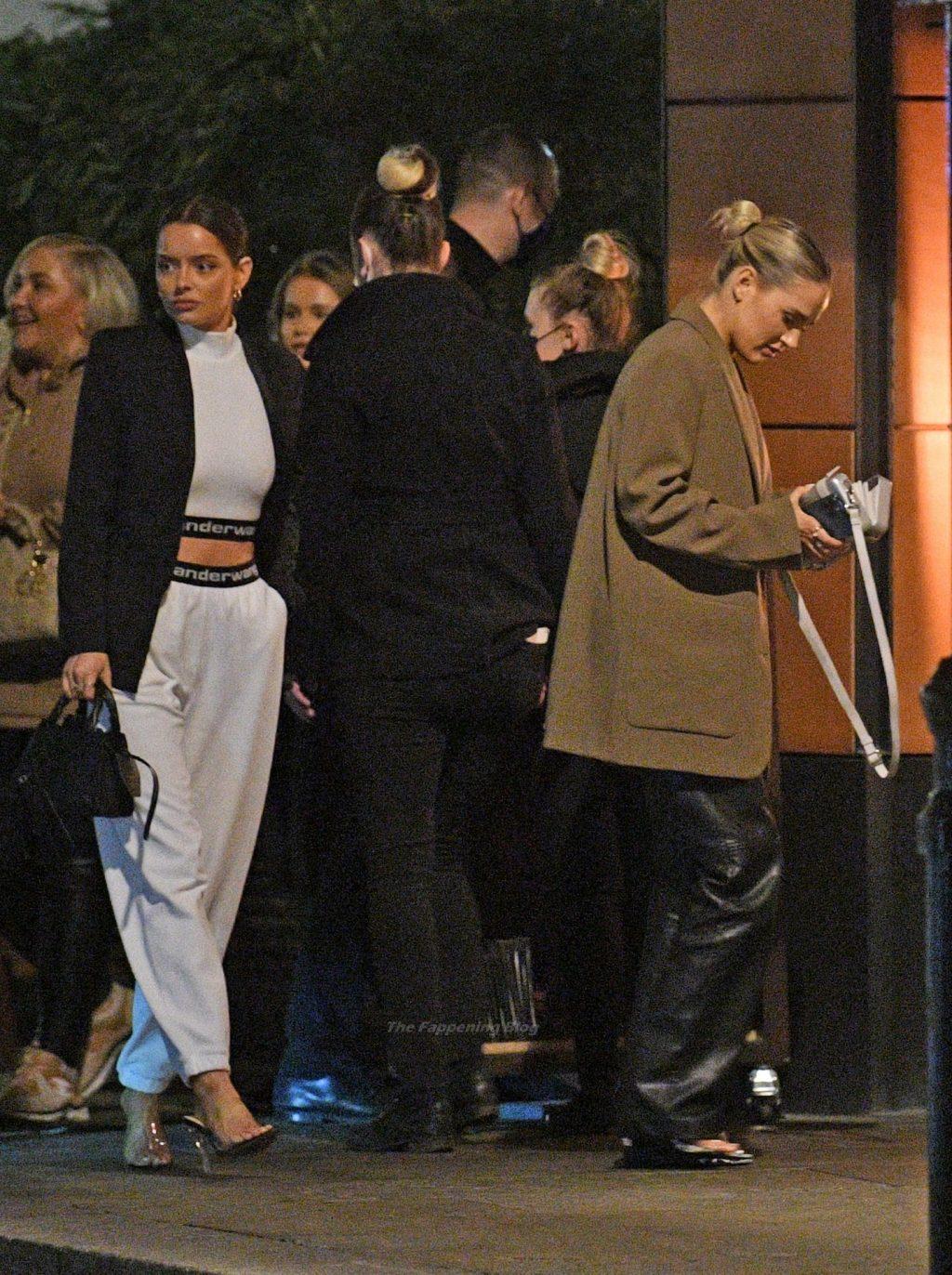 Maura Higgins is Seen Enjoying a Girly Dinner Date in London (24 Photos)