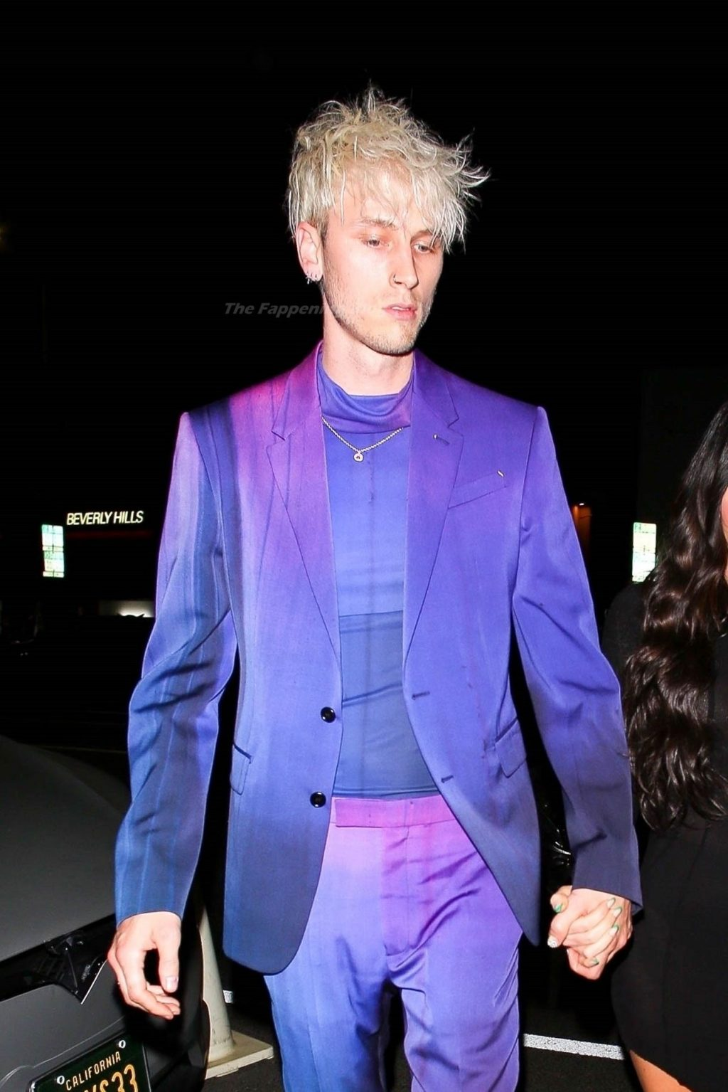 Megan Fox & MGK Put on Their Best Attire as They Attend an Event at The Nice Guy (22 Photos)