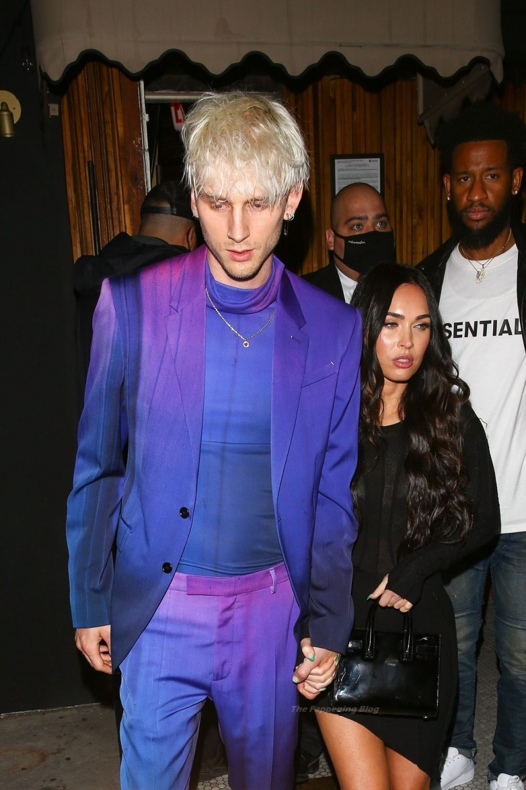 Megan Fox & MGK are Seen Leaving an Event at The Nice Guy (70 Photos)