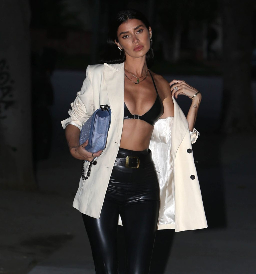 Nicole Williams Steps Out Wearing a Daring Outfit in Beverly Hills (34 Photos)