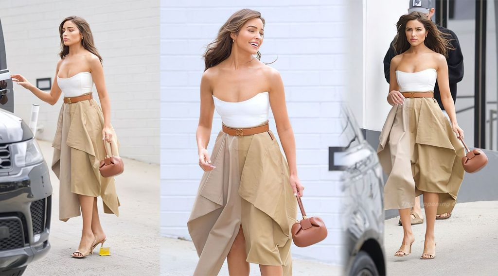 Olivia Culpo Sexy (2 Collage Photos)