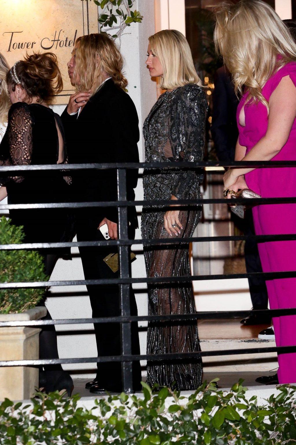 Paris Hilton & Oscar Nominee Maria Bakalova Head to Academy Awards After Party Together (61 Photos)