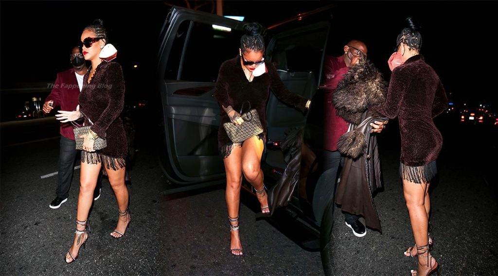 Rihanna Shows Off Her Sexy Legs (16 New Photos)